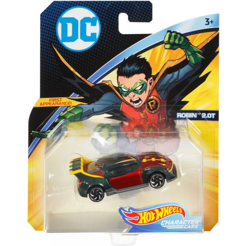 Hot Wheels DC Character Cars - Robin 2.0T