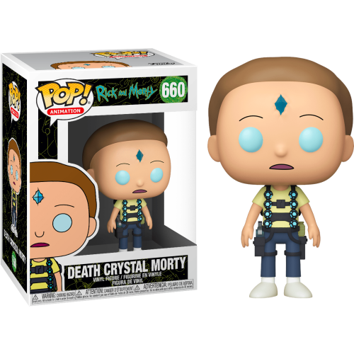 Funko Pop Vinyl - Rick and Morty - Death Crystal Morty 660
