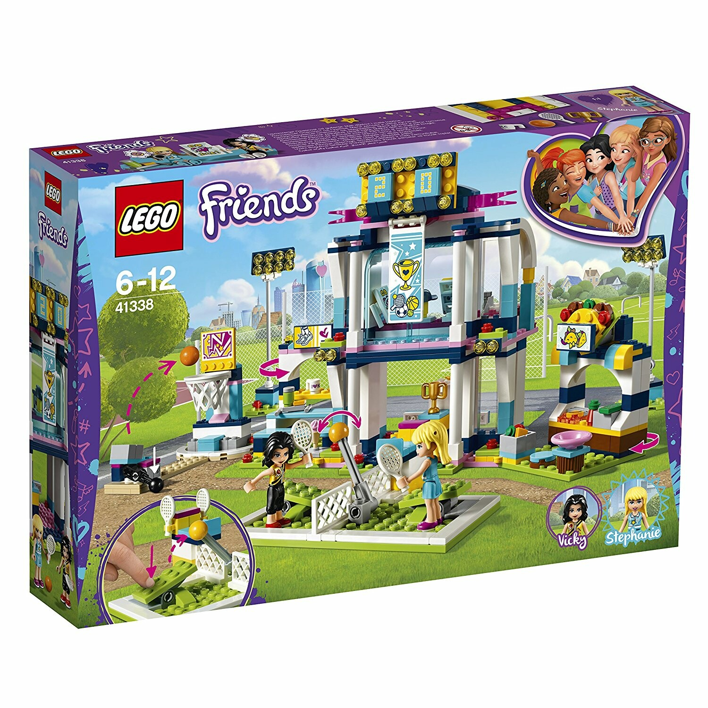 Lego 41338 Friends Heartlake Stephanie's Sports Arena ...
