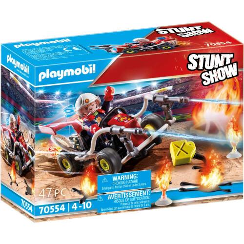 Playmobil 70554 Stunt Show Fire Quad