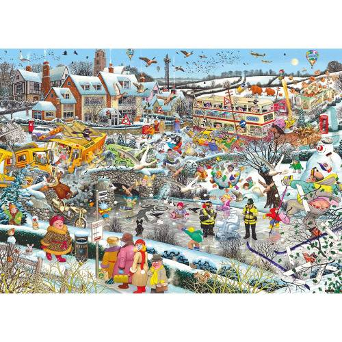 Gibsons I Love Winter 1000pc