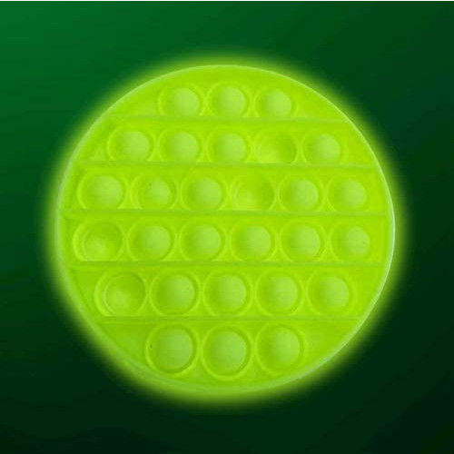 Glow In The Dark Push Poppers -  Circle