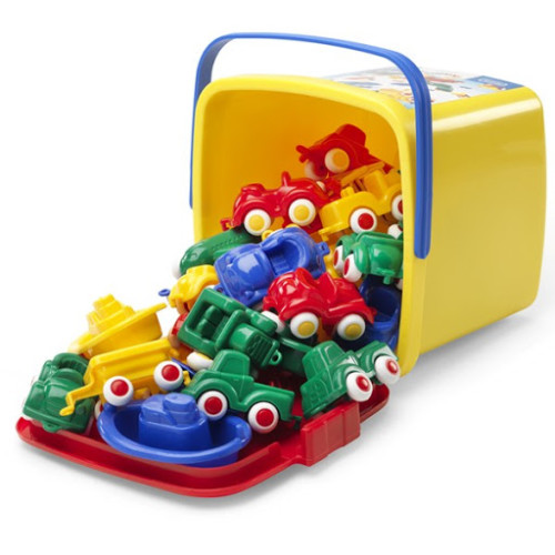 Viking Toys - 30 Piece Vehicle Bucket