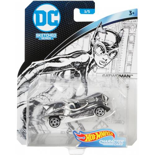 Hot Wheels DC Character Cars - Catwoman