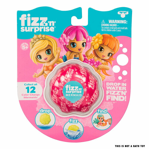 Fizz 'N' Surprise Mermaid Figure