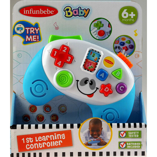 Infunbebe Baby My First Learning Game Controller