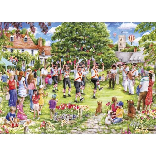 Gibsons The Country Dance 1000pc