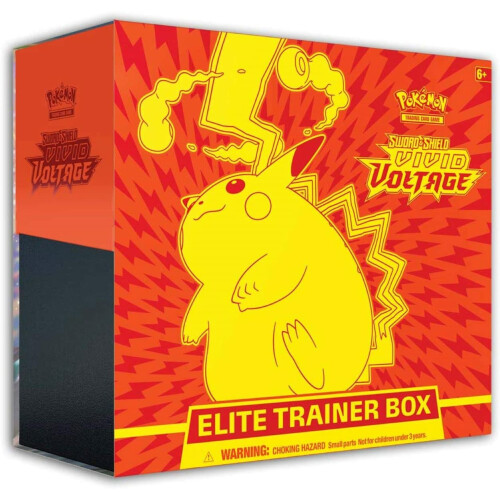 Pokemon TCG Sword & Shield Vivid Voltage Elite Trainer Box