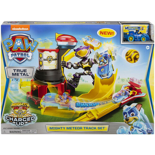 Paw Patrol True Metal Diecast Mighty Meteor Track Set