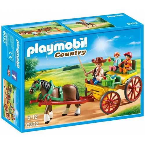 Playmobil 6932 Horse-Drawn Wagon