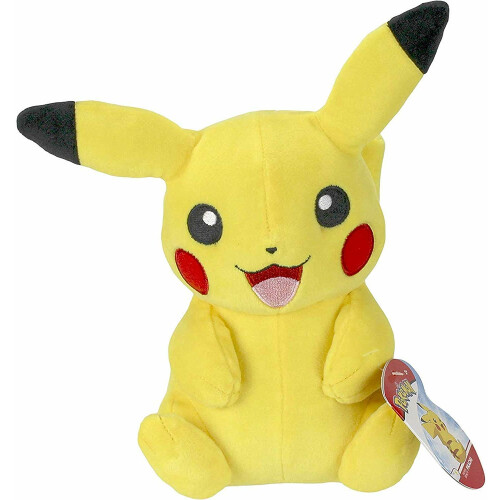 Pokemon 8 Inch Plush - Pikachu (Sitting)
