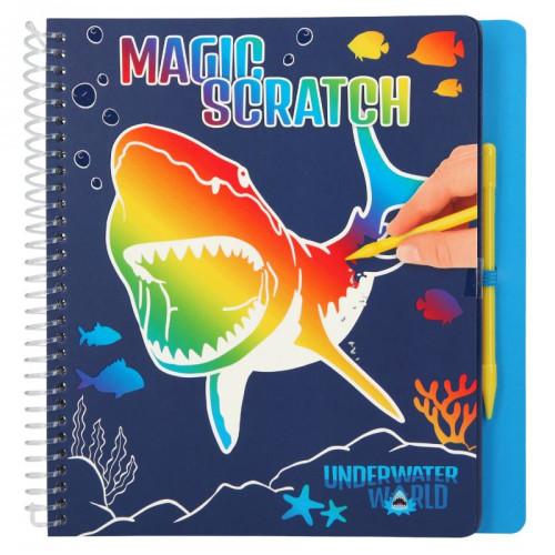 Underwater World Magic Scratch Book