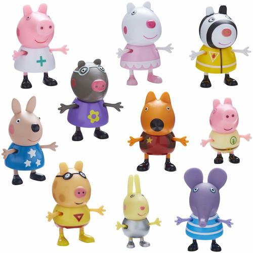 Peppa Pig Dress Up 10 Figure Pack