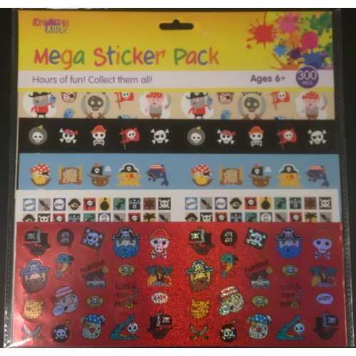 Mega Sticker Pack - Pirates
