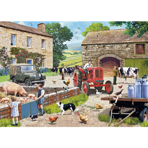 Gibsons Life On The Farm 1000pc Puzzle