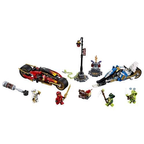 Lego 70667 Ninjago Legacy Kai's Blade Cycle & Zane's Snowmobile