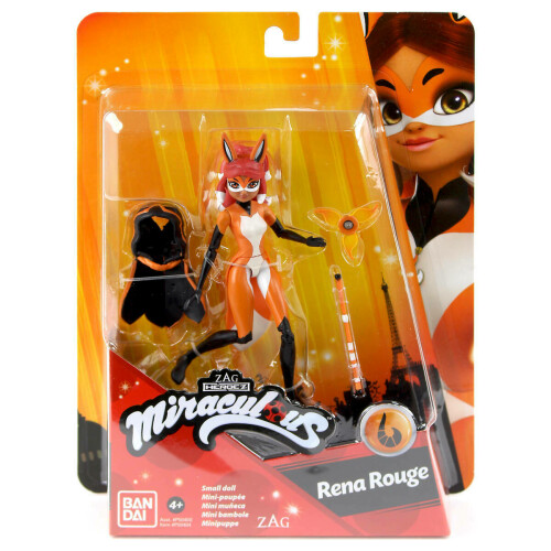 Miraculous Small Doll - Rena Rouge