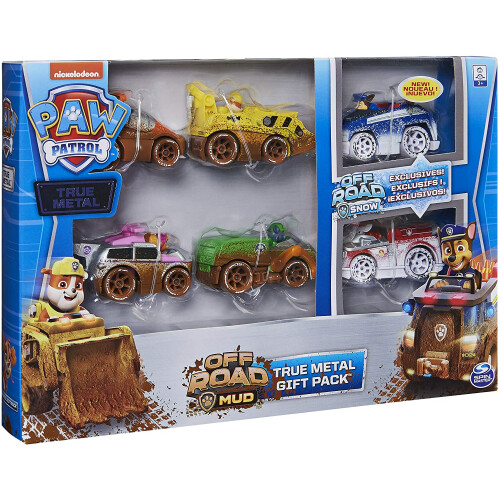 Paw Patrol Off Road Mud Gift Pack