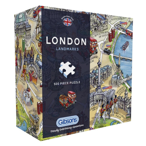 Gibsons London Landmarks 500pc Puzzle