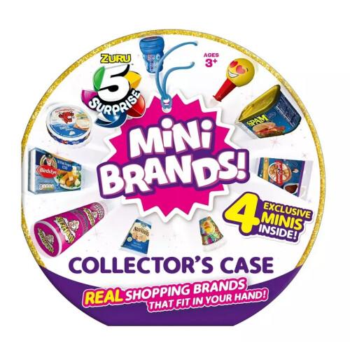 Zuru 5 Surprise Mini Brands Collector's Case