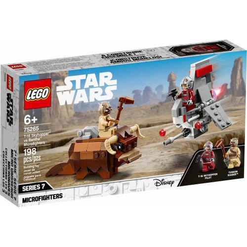 Lego 75265 Star Wars T-16 Skyhopper™ vs Bantha™ Microfighters