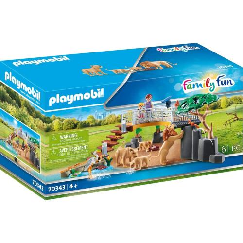 Playmobil 70343 Family Fun Outdoor Lion Enclosure