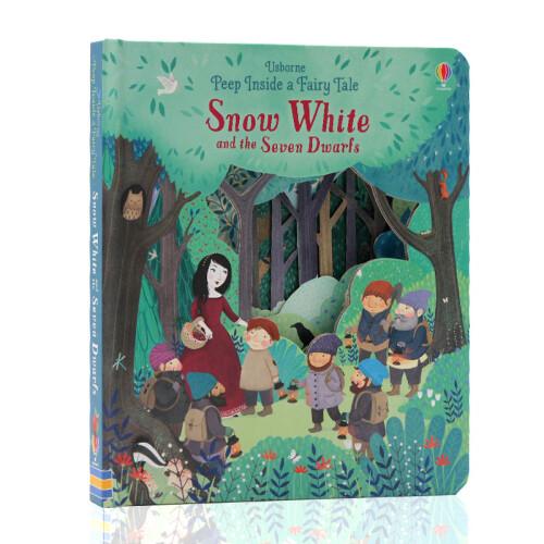 Usborne Books - Peep Inside a Fairy Tale Snow White and the Seven Dwarfs