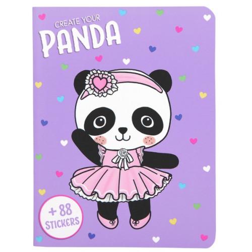 Depesche Create Your Panda Book