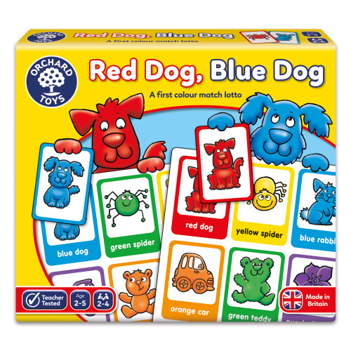 Orchard Red Dog Blue Dog