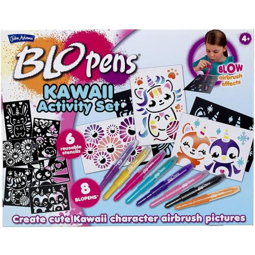 Blo Pens Kawaii Activity Set