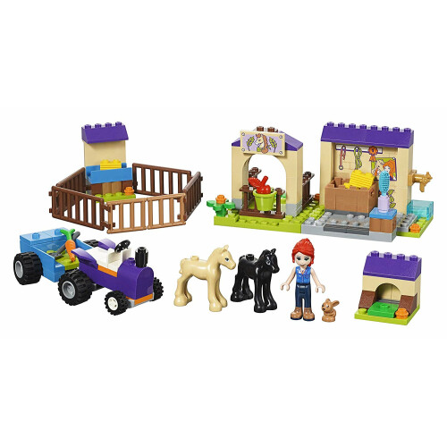 Lego 41361 Friends Mia's Foal Stable Building