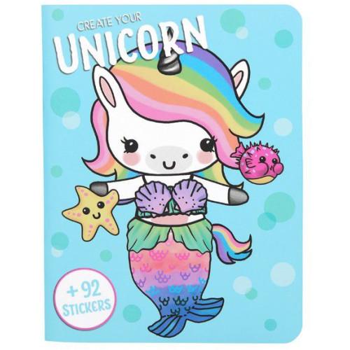 Depesche Create Your Unicorn Book