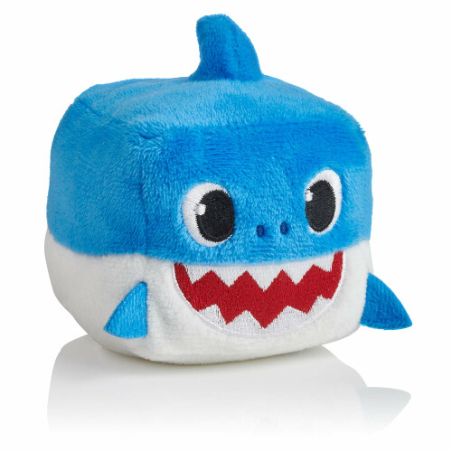Baby Shark Singing Plush Cube - Daddy