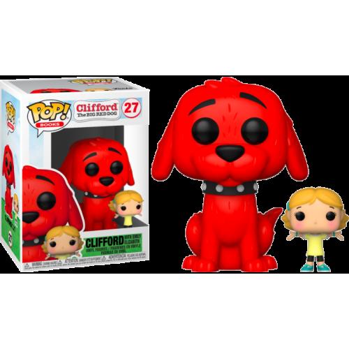 Funko Pop Vinyl - Clifford The Big Red Dog - Clifford with Emily Elizabeth 27