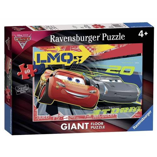 Ravensburger 60pc Giant Floor Puzzle Cars 3