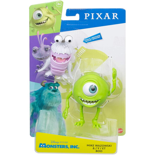 Monsters Inc. Action Figure - Mike Wazowski & Boo