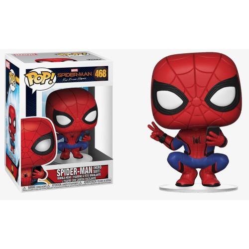 Funko Pop Vinyl - Spider-man Far From Home - Spider-man (Hero Suit) 468