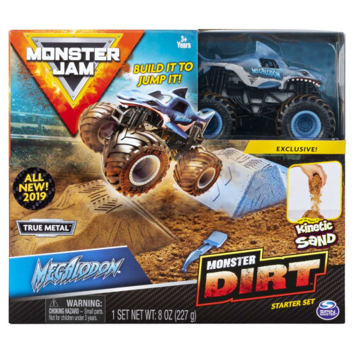 Monster Jam Monster Dirt Starter Set - Megalodon