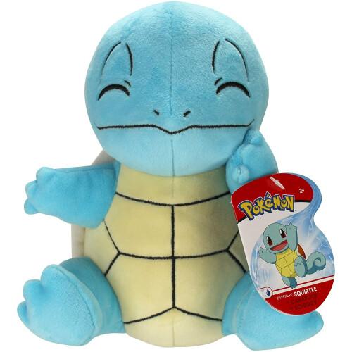 Pokemon 8 Inch Plush - Squirtle (Sitting)