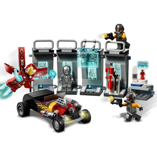 Lego 76167 Avengers Iron Man Armory