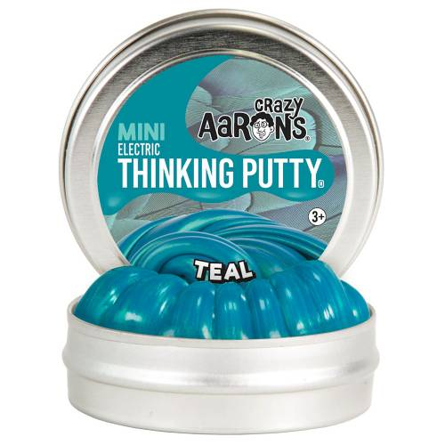 Crazy Aarons Thinking Putty Mini - Teal