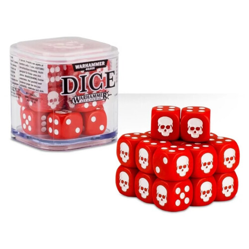 Warhammer Accessories - Citadel Dice Cube: Red
