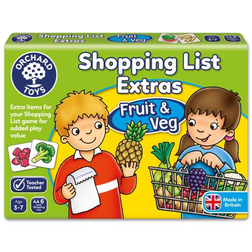 Orchard Shopping List Booster - Fruit & Veg