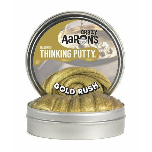 Crazy Aarons Thinking Putty Magnetics - Gold Rush