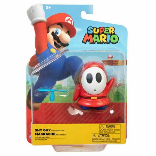 Super Mario 4 Inch Figures - Shy Guy