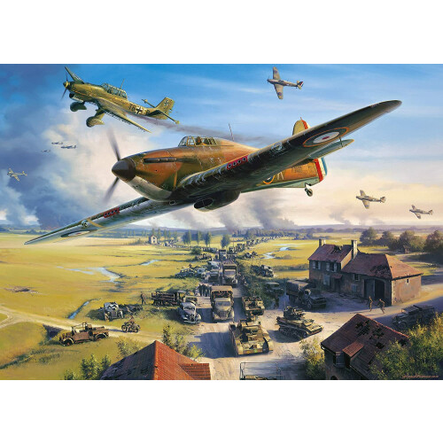 Gibsons Road To Dunkirk 1000pc Puzzle