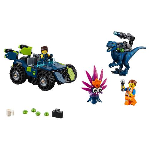 Lego 70826 Lego Movie 2 Rex's Rex-treme Offroader!