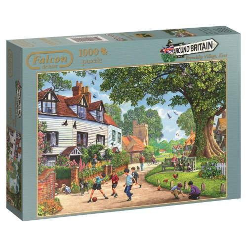Falcon de luxe Brenchley Village 1000pc Jigsaw Puzzle