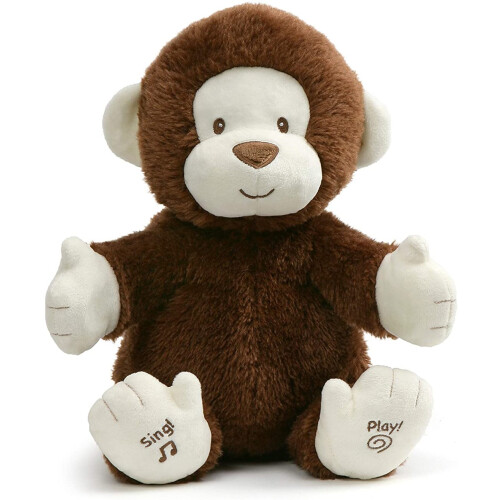 Gund Talks and Plays - Clappy The Monkey
