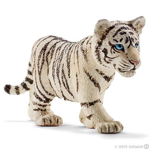 Schleich Wild Life 14732 Tiger Cub, White
